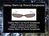 Oakley Warm Up Round Sunglasses