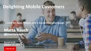 Rauch delighting mobile customers with content for apps, videos, and a social media campaign