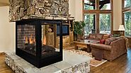 Pearl Designer Multi-Sided Direct Vent Gas Fireplace