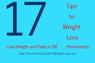 Headline for 17 Tips to Weight Loss
