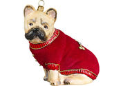 French Bulldog Christmas Ornaments - French Bulldog Christmas Ornaments
