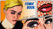 Pop Art / Comic Book Makeup