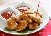 healthy baked chicken nuggets | Skinny Mom | Where Moms Get the Skinny on Healthy Living