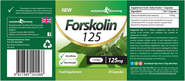 Forskolin 125 mg