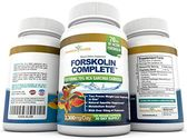 PURE FORSKOLIN EXTRACT with 75% HCA GARCINIA CAMBOGIA - Standardized to 20% Forskolin, Yielding 70mg Active Forskolin...
