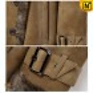 Oslo Womens Shearling Leather Fur Coat CW640230