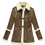 Denver Ladies Shearling Fur Jacket CWMALLS