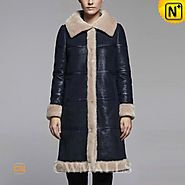 Glasgow Winter Shearling Trimmed Coat CW605502