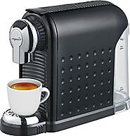 Espresso Machine - For Nespresso Compatible Capsules - By Mixpresso (Black)