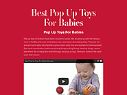Best Pop Up Toys For Babies