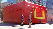 McDonald's Gets Truly Supersized With a Pop-Up Store Shaped Like a Giant Lunchbox