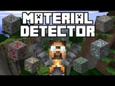 Material Detector Mod 1.8 and 1.7.10