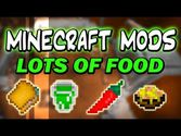 Lots Of Food Mod 1.7.10 and 1.7.2
