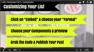3. Customizing Your Listly Embeds
