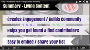 8. Living Content - A Summary of the Value Listly brings to #Wordpress