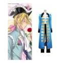 Axis Powers Hetalia France Blue Cosplay Costume -- CosplayDeal.com