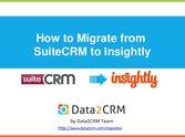 How to Migrate SuiteCRM to Insightly in Few Simple Steps