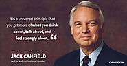 Jack Canfield on Law of Attraction and Money (Inspirational words)
