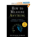 How to Measure Anything: Finding the Value of Intangibles in Business: Douglas W. Hubbard: 9780470539392: Amazon.com:...