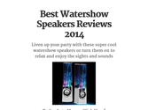 Best Watershow Speakers Reviews 2014