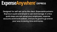 ExpenseAnywhere Express for Small Biz.....We Can Help!