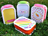 So cute Yubo lunch boxes for little girls who love pink!