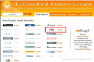 Check Username Availability at Multiple Social Networking Sites