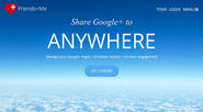 Friends+Me - Share Google+ to ANYWHERE