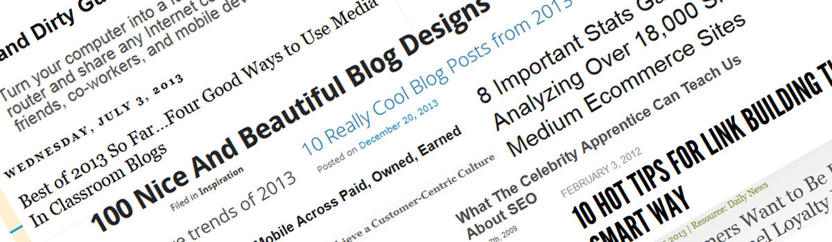Headline for Blogging Tools With The Blogger In Mind