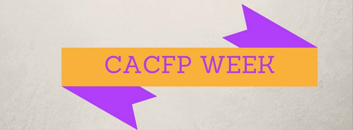 Headline for CACFP Week