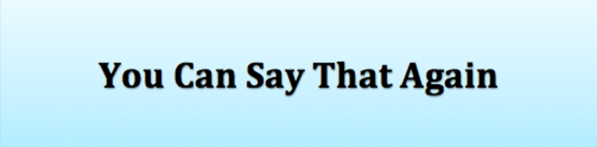 Headline for You Can Say That Again: Redundant Phrases to Think Twice About