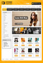 Online Correct Music Store Template | Store Templates