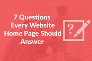 7 Questions Every Website Home Page Should Answer | Vocso