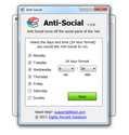 Anti-Social - Social Networking Block Software