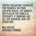Two Psychologists: stories from the autism spectrum | Invisible Strings - M Kelter
