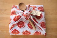 Dish Cloth Gift Wrap