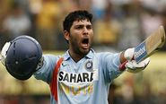 Yuvraj Singh, the unstoppable.
