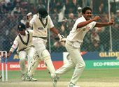 The Ravishing 10 Wickets by Anil Kumble.
