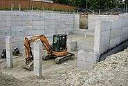 Types of concrete foundations for rebuilds a home