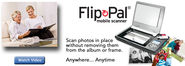 Scan photos in place without removal | Flip-Pal mobile scanner