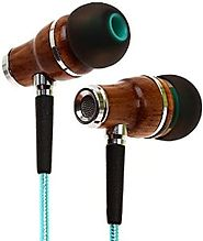 Earbuds by Symphonized NRG 2.0 Premium Genuine Wood In-ear Noise-isolating Headphones|Earphones with Innovative Shiel...
