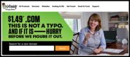 GoDaddy Domain Coupon Code November 2014 - $1.49 .com
