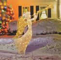 Lighted Christmas Angels - Yard
