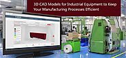 How 3D CAD Models are Ingenious in Industrial Equipment Manufacturing Procedure?