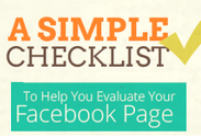 Evaluate Your Facebook Page With This Simple Checklist [INFOGRAPHIC]