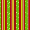 Red Lime Green STRIPE & POLKA DOT Christmas Gift Wrap Wrapping Paper - 16ft Roll