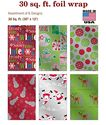 Premium Foil Christmas Gift Wrap Wrapping Paper for Men, Women, Boys, Girls, Kids 6 Different 12 ft X 30 in Rolls Inc...