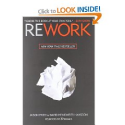 Rework: Jason Fried, David Heinemeier Hansson: 9780307463746: Amazon.com: Books