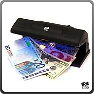 The ZZap D20 - Counterfeit Money Detector - Ultraviolet detection using a 9 Watt long-life bulb, ideal for checking c...