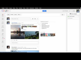 Google+: See who a post is shared with